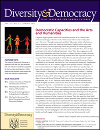Diversity & Democracy: Democratic Capacities and the Arts and Humanities (Spring 2012)