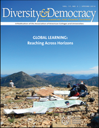 Diversity & Democracy: Global Learning: Reaching Across Horizons (Spring 2014)
