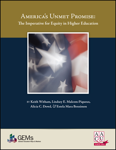 America's Unmet Promise: The Imperative for Equity in Higher Education