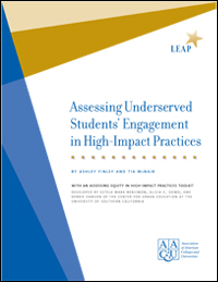 Assessing Underserved Students' Engagement in High-Impact Practices (limit one per person)