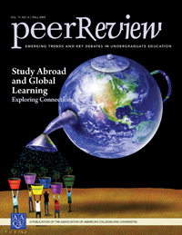 Study Abroad and Global Learning: Exploring Connections, <em> Peer Review </em> single issue