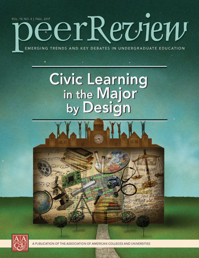 Peer Review Fall 2017: Civic Learning in the Major by Design