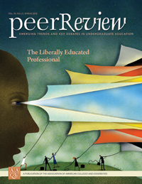 Peer Review  Spring 2012, The Liberally Educated Professional