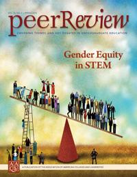Peer Review Spring 2014: Gender Equity in STEM