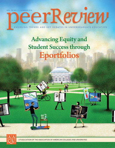 Peer Review Summer 2016: Advancing Equity and Student Success through Eportfolios