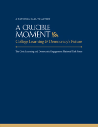 A Crucible Moment: College Learning & Democracy's Future