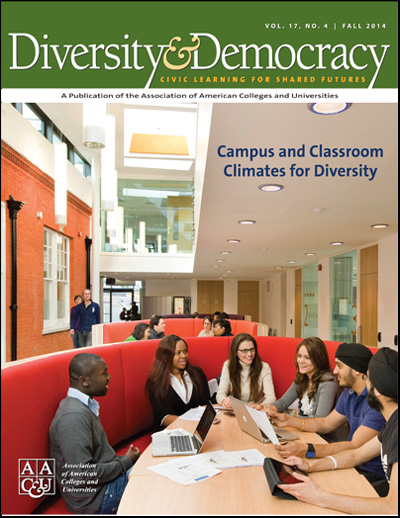 Diversity & Democracy: Campus and Classroom Climates for Diversity (Fall 2014)