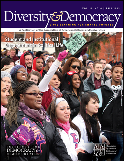 Diversity & Democracy: Student and Institutional Engagement in Political Life (Fall 2015)