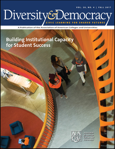 Diversity & Democracy: Building Institutional Capacity for Student Success (Fall 2017)