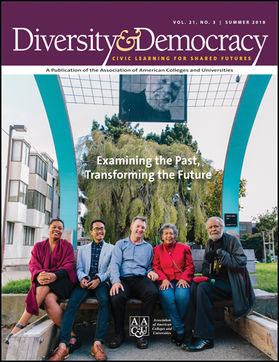 Diversity & Democracy, Vol. 21, No. 3. Examining the Past, Transforming the Future