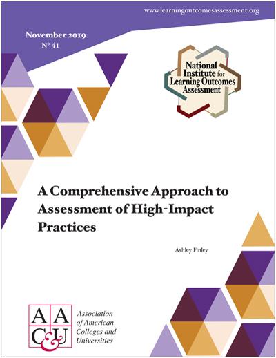 A Comprehensive Approach to Assessment of HIPs (E-Title)