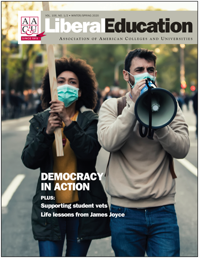 Liberal Education Wi-Sp 2020: Democracy in Action (E-Title)