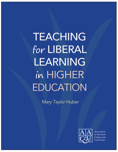Teaching for Liberal Learning in Higher Education (E-Title)