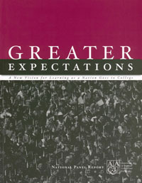 Greater Expectations: A New Vision for Learning as a Nation Goes to College
