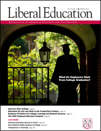 Liberal Education Spring 2013: What Do Employers Want
