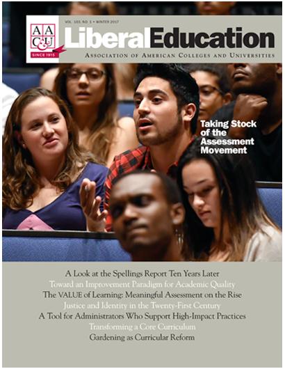 Liberal Education Winter 2017
