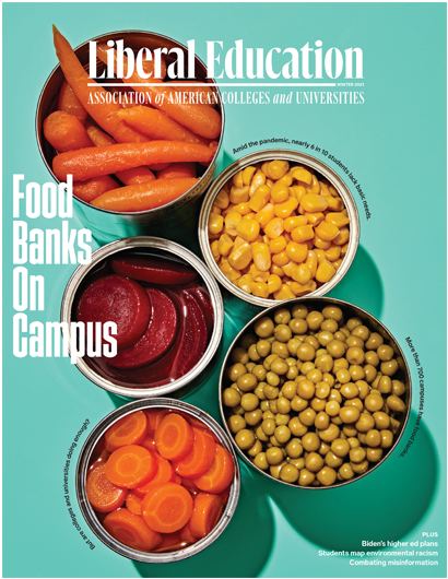 Liberal Education Winter 2021: Food Banks on Campus