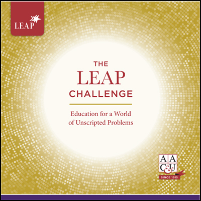 The LEAP Challenge: Education for a World of Unscripted Problems <br \><em>(limit 50 per person)</em>