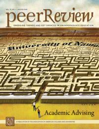 Peer Review Winter 2008 - Academic Advising