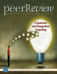 Peer Review Fall 2013: Capstones and Integrative Learning