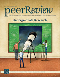 Undergraduate Research; <em> Peer Review </em> single issue