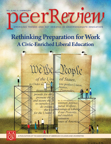 Peer Review Summer 2015: Rethinking Preparation for Work: A Civic-Enriched Liberal Education
