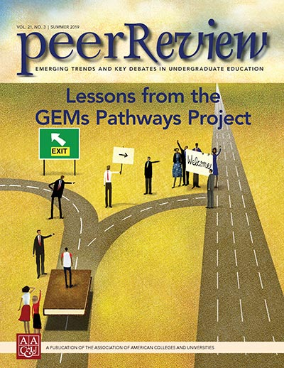 Peer Review Summer 2019: Lessons from the GEMs Pathways