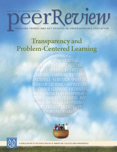 Peer Review Winter/Spring 2016