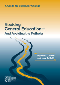 Revising General Education - And Avoiding the Potholes