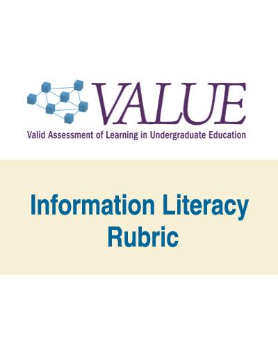 Information Literacy VALUE Rubric