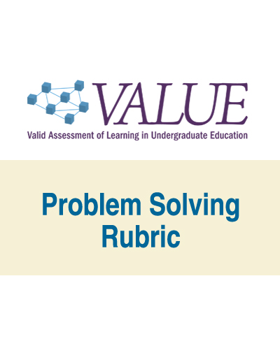 Problem Solving VALUE Rubric