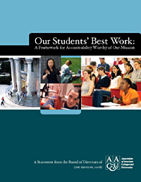 Our Students' Best Work: A Framework for Accountability Worthy of Our Mission