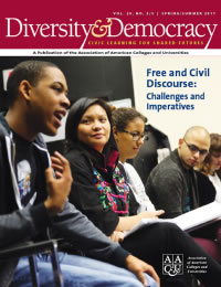 Diversity & Democracy: Free and Civil Discourse: Challenges and Imperatives (Spring/Summer 2017)