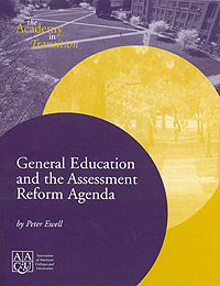 General Education and the Assessment Reform Agenda (Print version)