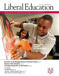 Liberal Education Winter 2007: Bringing Theory to Practice