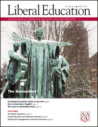 Liberal Education Winter 2010 - The Humanities