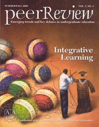 Peer Review Summer/Fall 2005 Integrative Learning