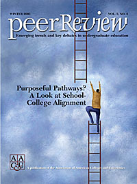 Purposeful Pathways? A Look at School-College Alignment, Peer Review Single Issue