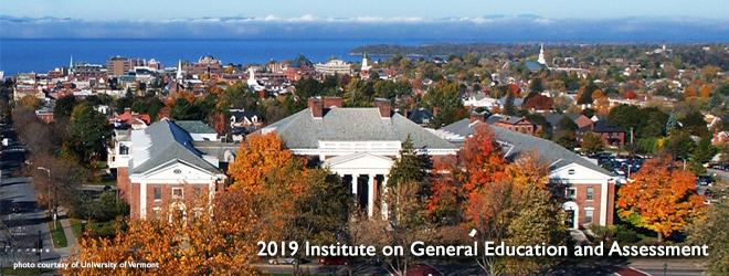 2019 Institute on General Education & Assessment